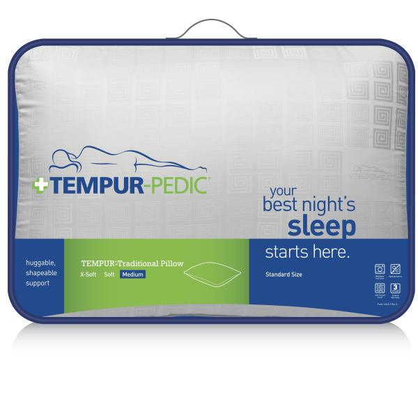 tempurpedic traditional pillow