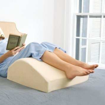 buy wedge leg lift comforts pillow easy